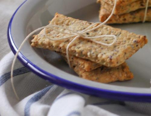 Crackers con Farina di Ceci