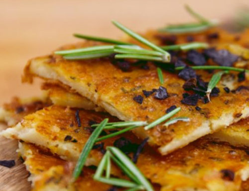 Farinata di lenticchie gialle